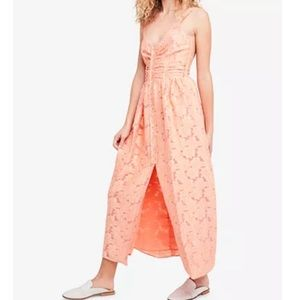NWT Free People Fresh As a Daisy Embroidered Dress